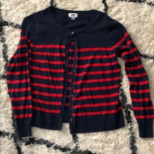 Two long sleeve Old Navy cardigans and one free